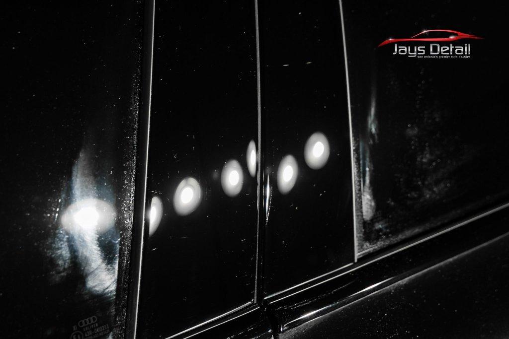 Black Audi S8's Finish Resurrected & Protected with SunTek & Cquartz 8