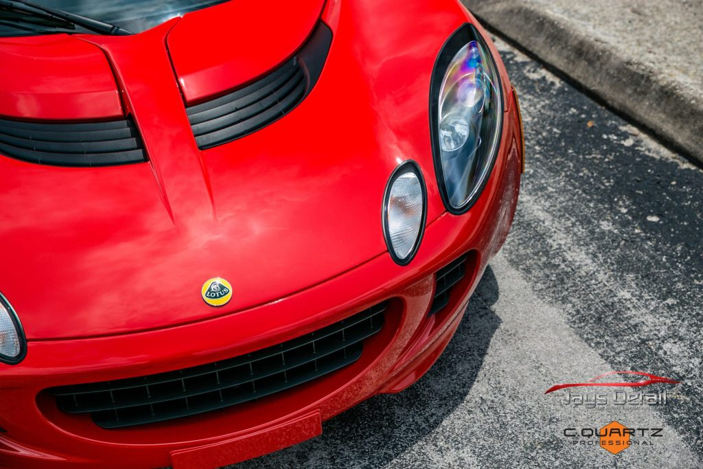Lotus Elise Needs Mid-Life Facelift with Clear Bra Removal & Replacement - Paint Protection Film Removal San Antonio, Texas 11