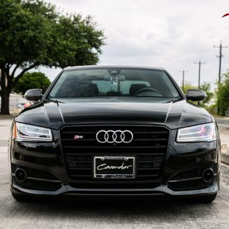 Black Audi S8's Finish Resurrected & Protected with SunTek & Cquartz
