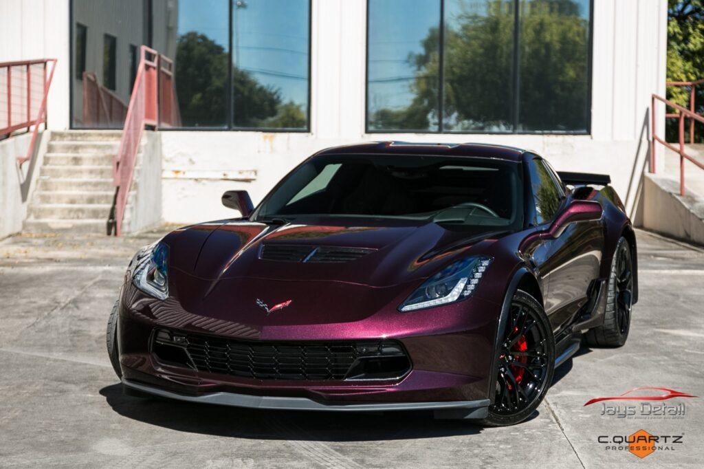 Chevrolet Corvette ZO6 Gets a Facelift Jay's Detail Studio Style 12