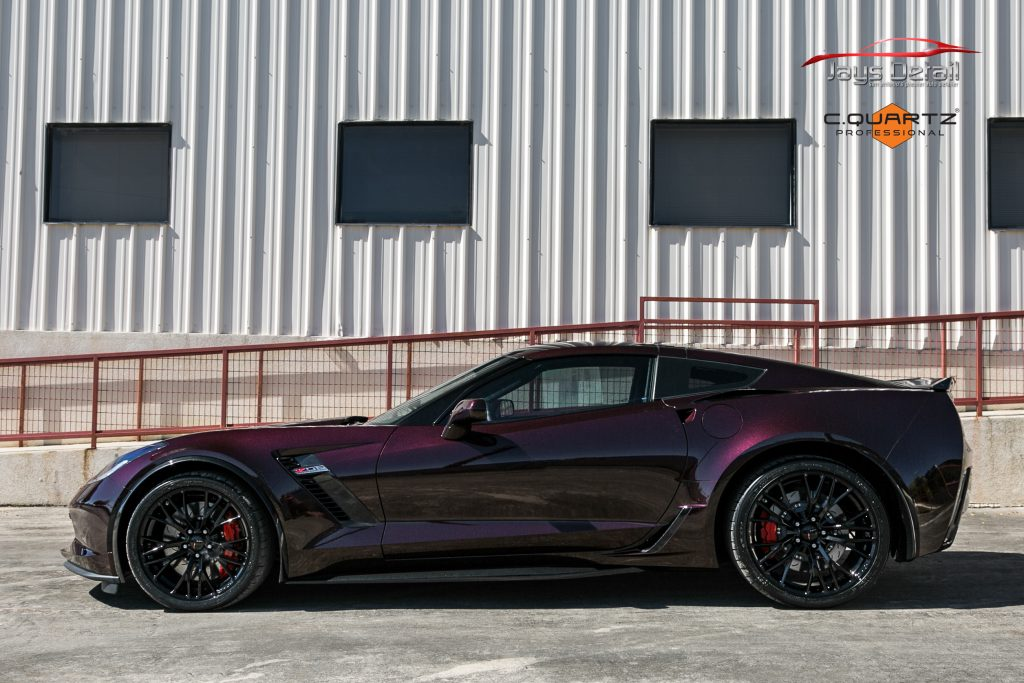 Chevrolet Corvette ZO6 Gets a Facelift Jay's Detail Studio Style 11
