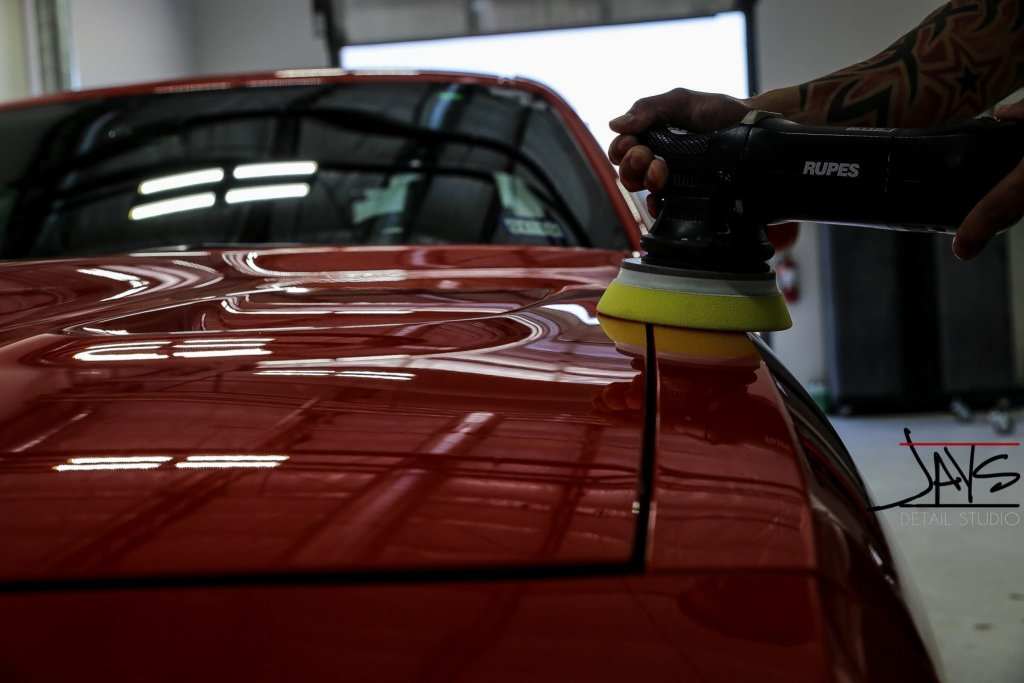 Go Mango Hellcat Challenger Gets Paint Corrected & Protected - Paint Corrected and Paint Protection in San Antonio, Texas 5
