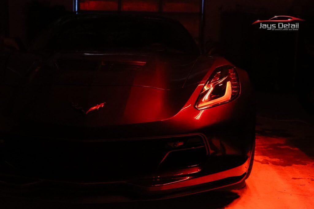 Chevrolet Corvette ZO6 Gets a Facelift Jay's Detail Studio Style 8