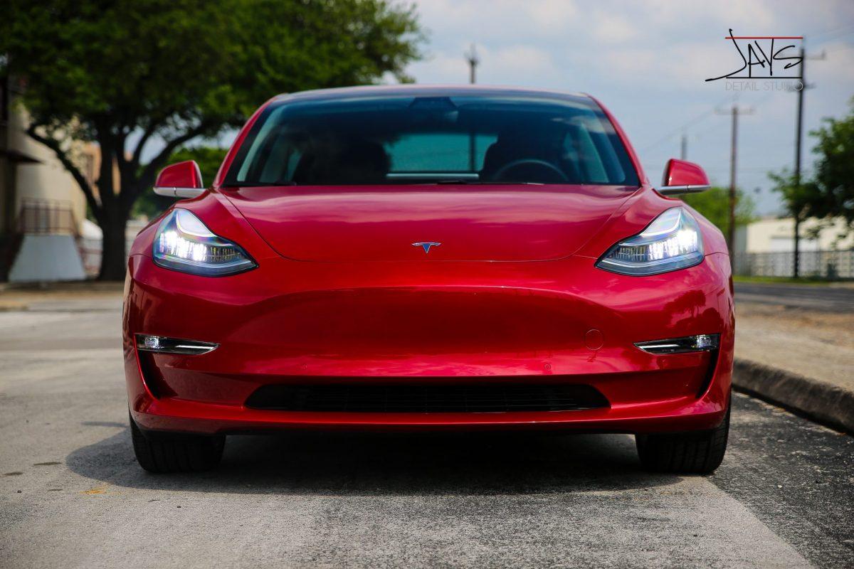 Brand New Tesla Model 3 in for Jay's New Car Prep Service