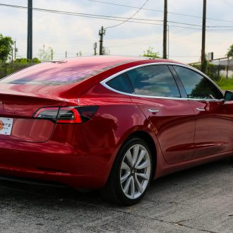 Brand New Tesla Model 3 in for Jay's New Car Prep Service 16
