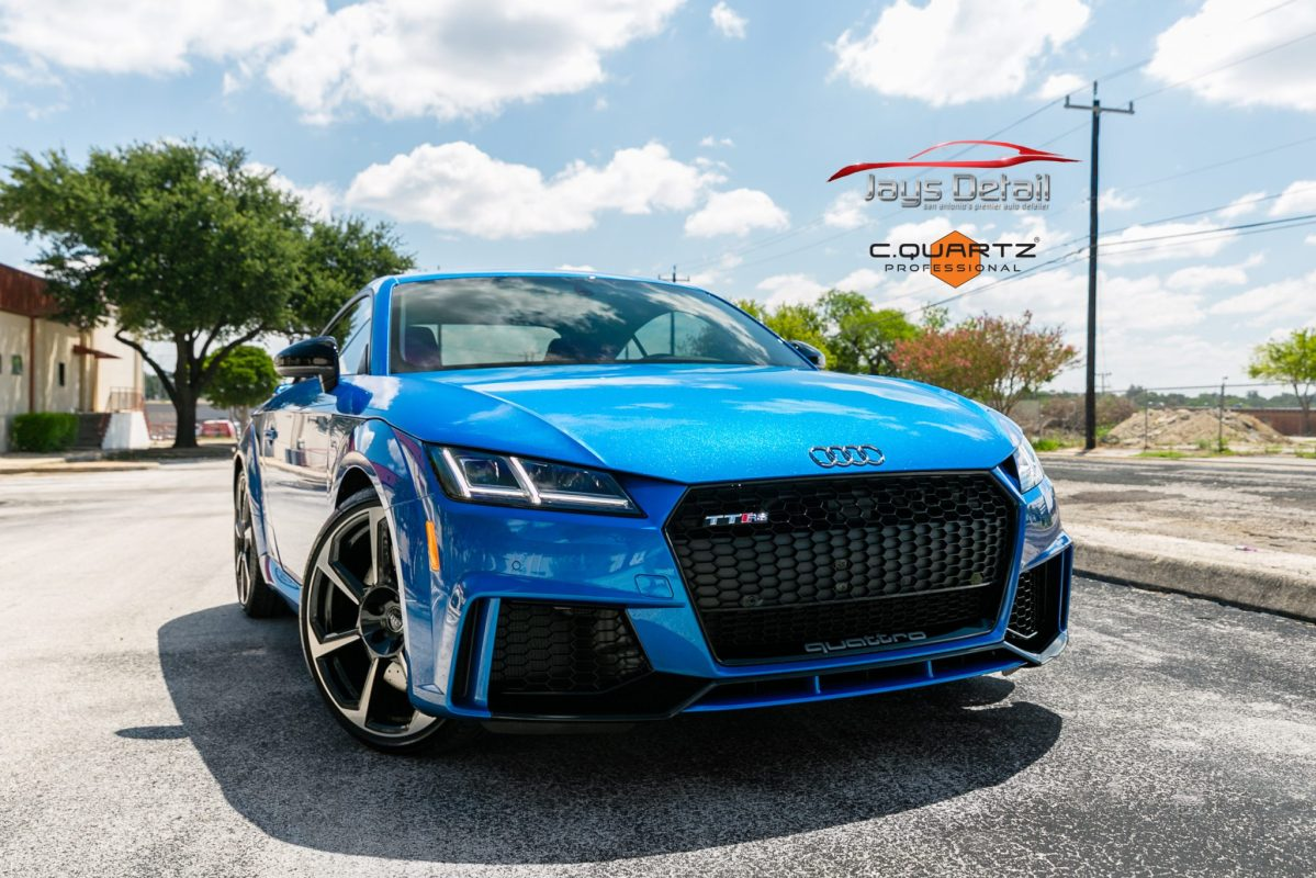Sweet Audi TT-RS Receives Jay's Ultimate Vehicle Protection Package - San Antonio, Texas