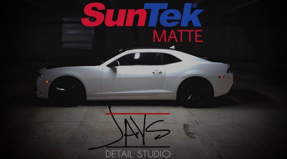 SunTek Paint Protection Film Matte