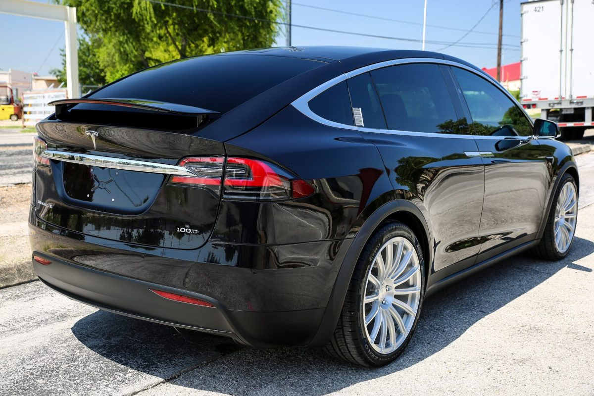 This Tesla Mothership Receives Paint Protection Forcefield - Paint Protection Film and Ceramic Paint Coatings in San Antonio, Texas