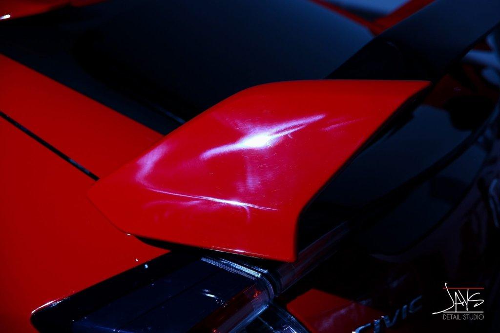 Honda Civic Type R Gets Automotive Protection and Preservation - Automotive Paint Protection and Paint Coating in San Antonio and Austin, Texas