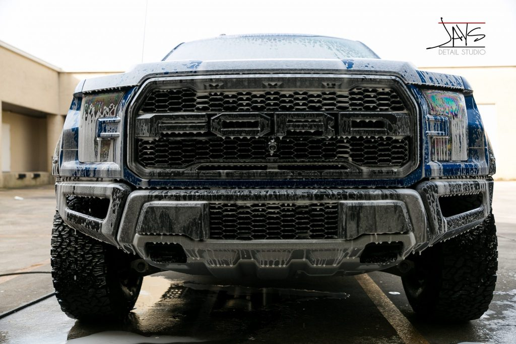 Ford Raptor Gets Paint Corrected and Ceramic Paint Coating - Automotive Ceramic Paint Coating in San Antonio, Texas 3