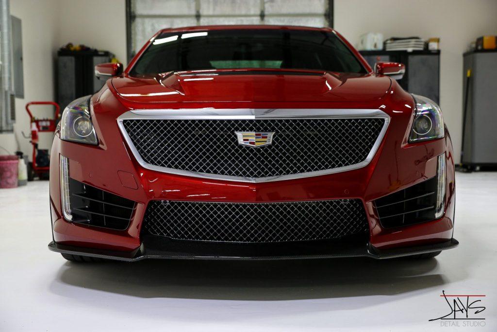 Cadillac CTS-V Transformed - San Antonio's Automotive Appearance Pros 4