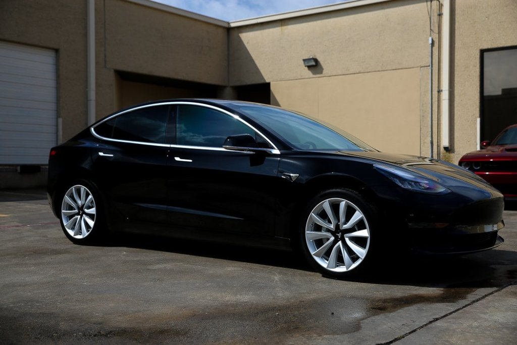 Tesla Model 3 Receives New Car Protection Package at Jay's Detail Studio in San Antonio, Texas 8