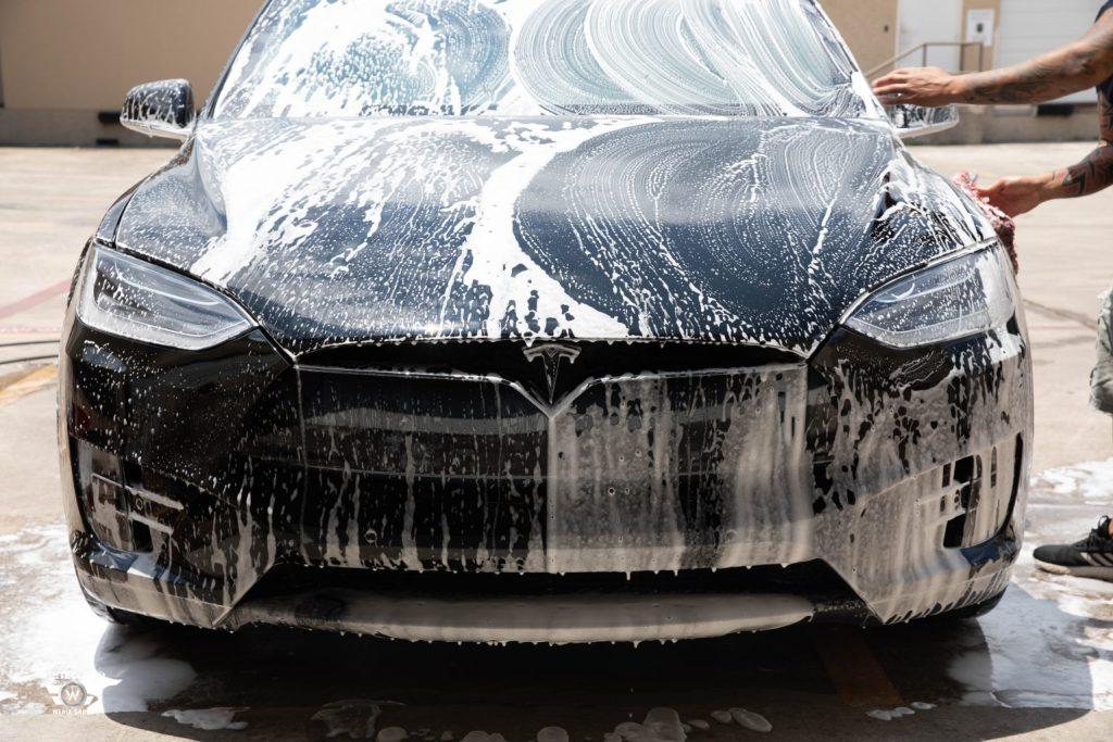 Tesla Model X Gets SunTek Ultra Defense PPF & CIR Window Tint 2