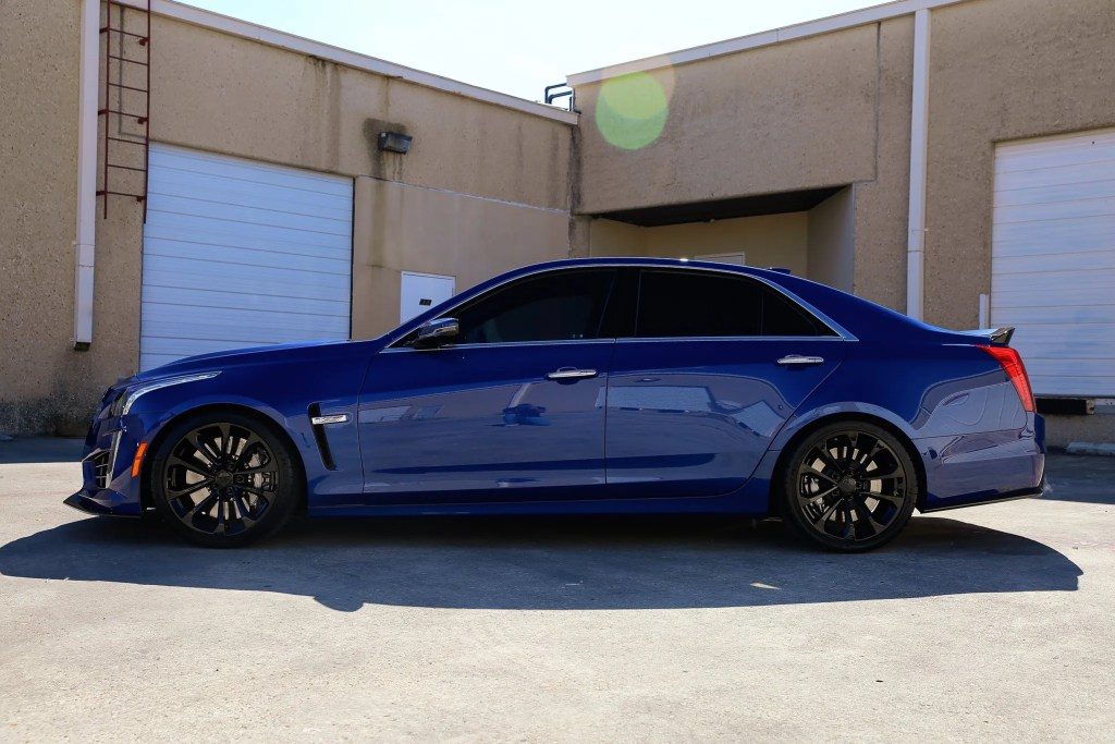 Paint Protection Film (PPF) And Ceramic Paint Coating For Cadillac CTS-V 3