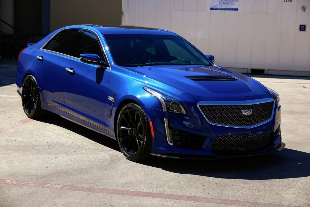Paint Protection Film (PPF) And Ceramic Paint Coating For Cadillac CTS-V 2