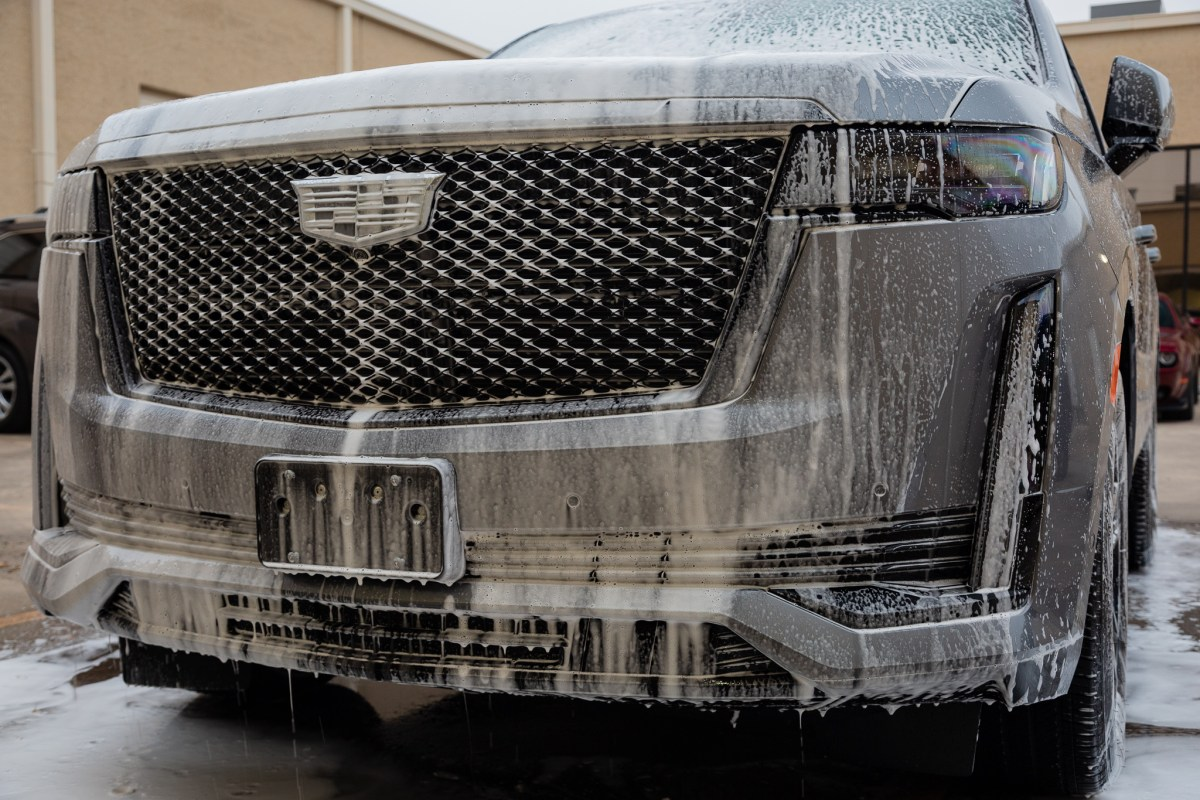 Cadillac Escalade Protected With SunTek Reaction Paint Protection Film 2