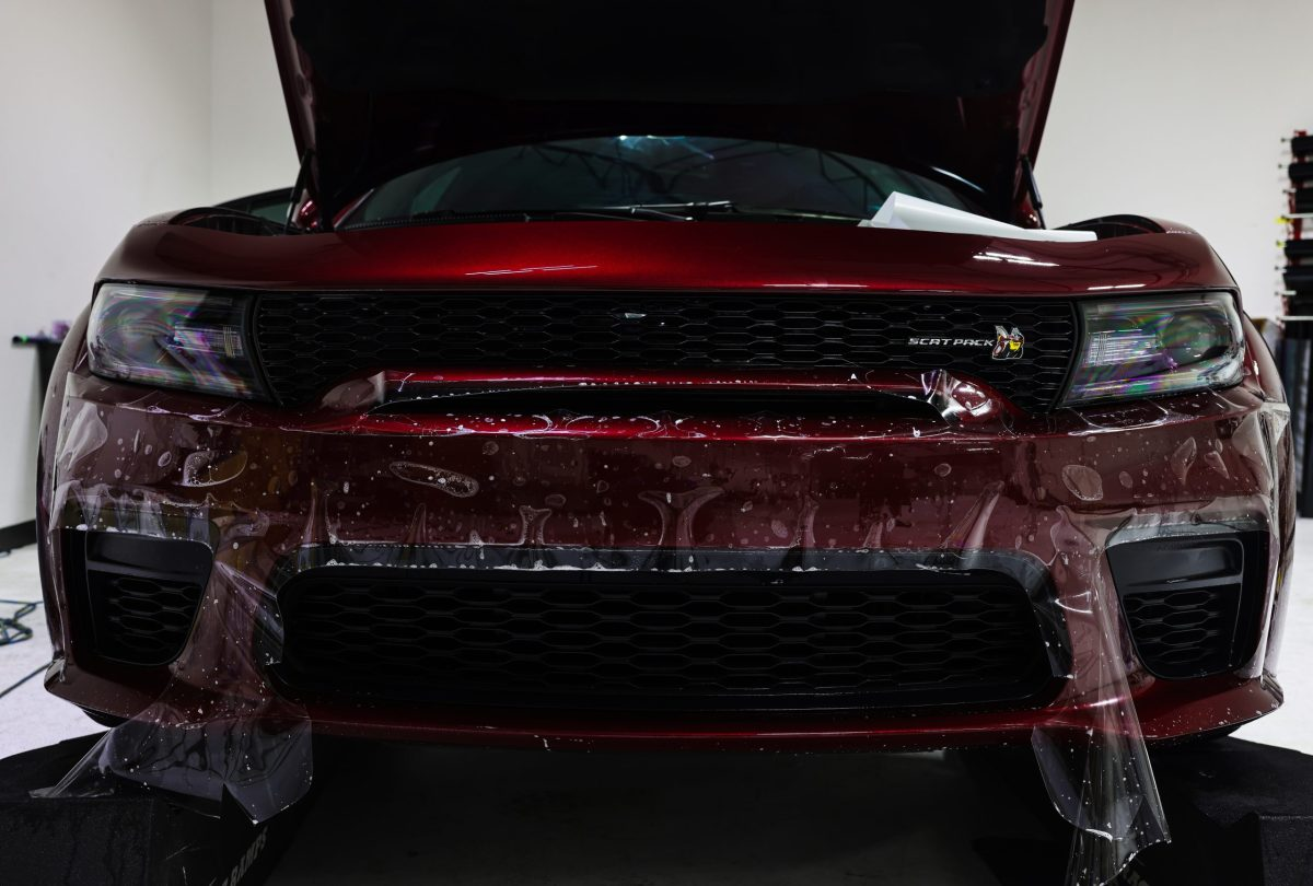 Charger Widebody Scat Pack Tinted, Paint Corrected, Protected & Coated - Paint Protection and Window Tint Services in San Antonio, Texas 3