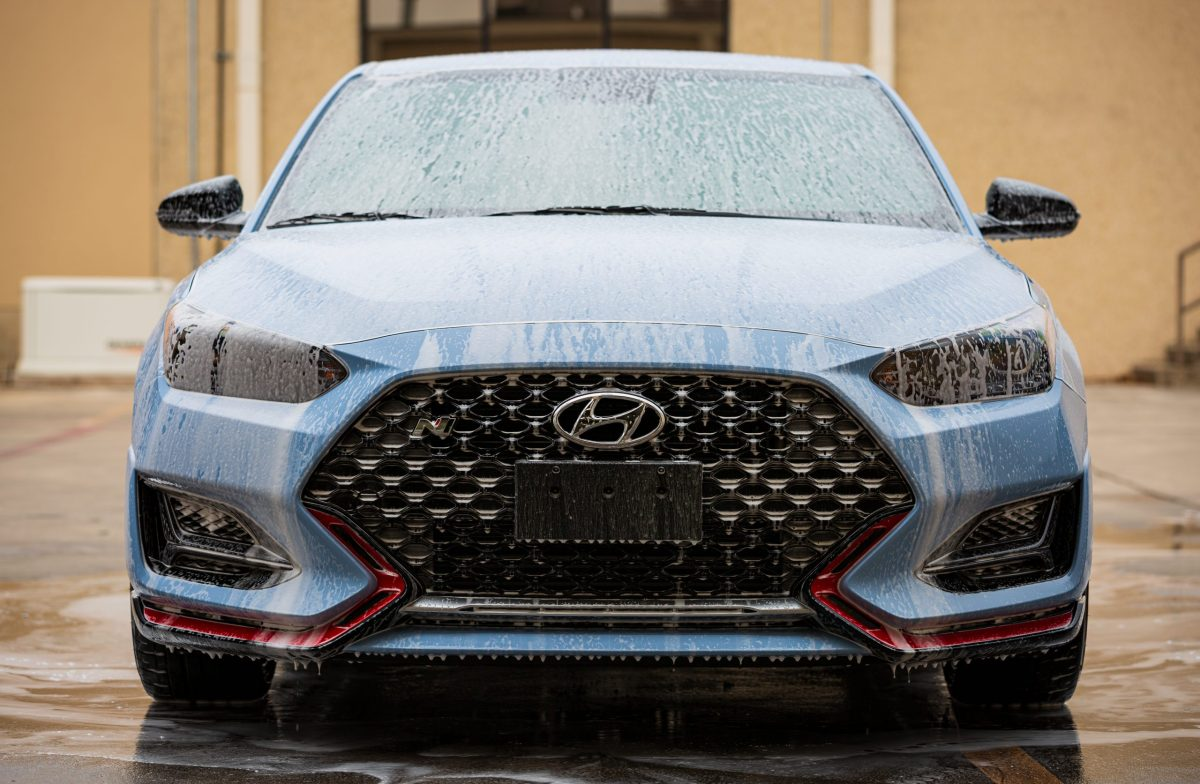 3M Window Tint and SunTek Paint Protection For Hyundai Veloster N - Window Tinting and Paint Protection Film in San Antonio, Texas -2
