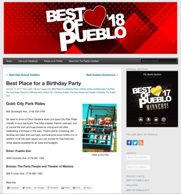 Best of Pueblo