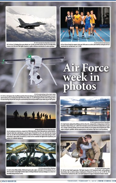 Peterson Space Observer's Air Force Week in Photos