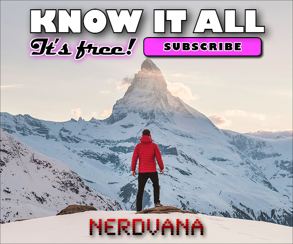 """Nerdvana """"Know It All"""" email newsletter promo campaign"""