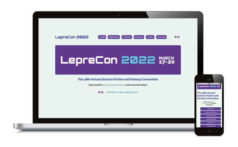 LepreCon 48 2022 March 17-20