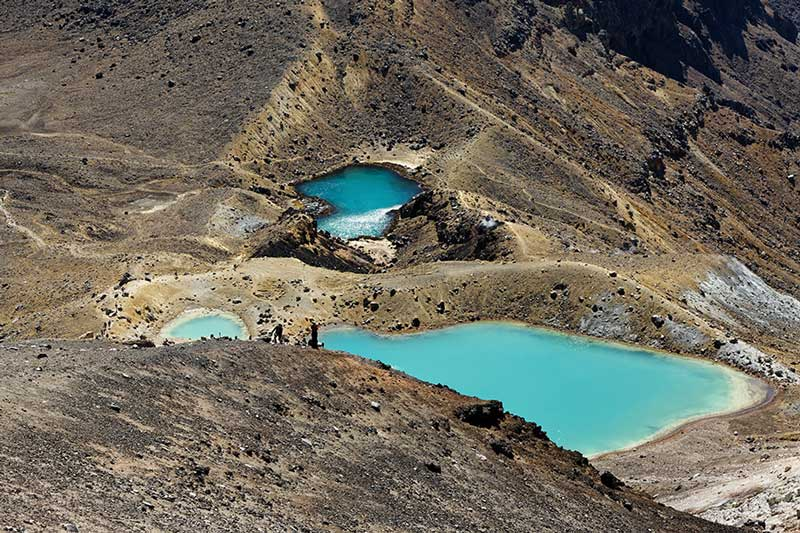 Mountain Lakes, Tongariro
