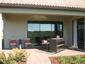 Hideaway Model Covered Porch at ChampionsGate