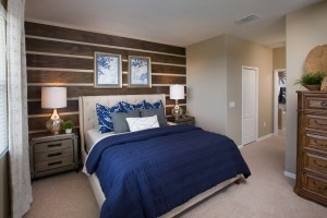 Turnberry Model Master Bedroom at ChampionsGate