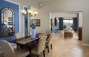 Sand Dollar Model Dining Room at ChampionsGate
