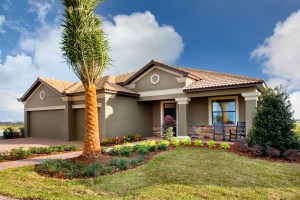 Sand Dollar Model Front Exterior at ChampionsGate