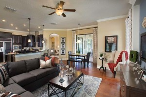 Stockton Grande Model Family Room at ChampionsGate