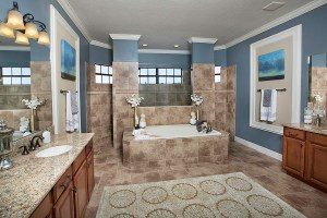 Stockton Grande Model Master Bath at ChampionsGate