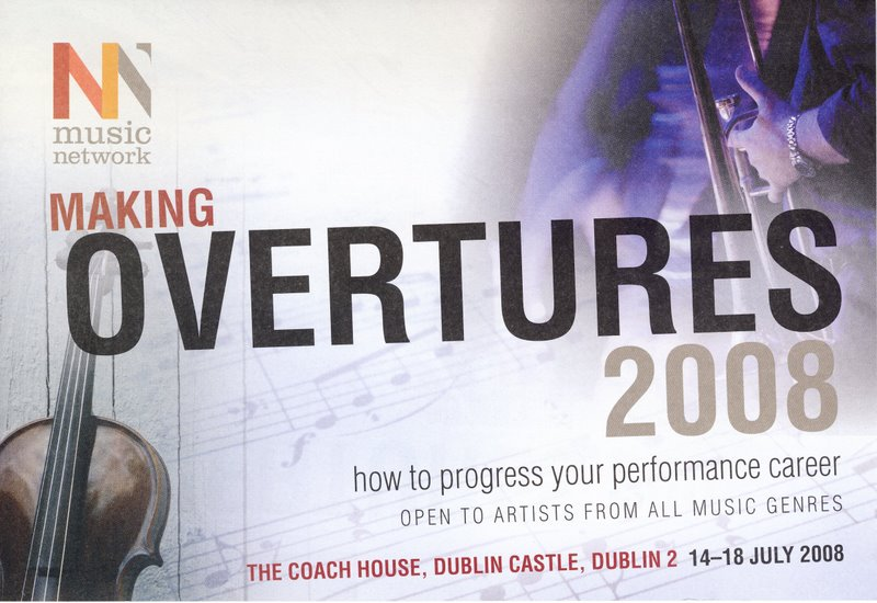 Making overtures advertisement