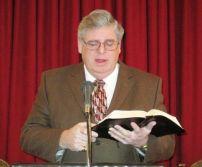 Photo: Jay preaching