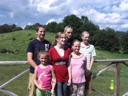 Photo: Grandchildren at Shekinah Farm