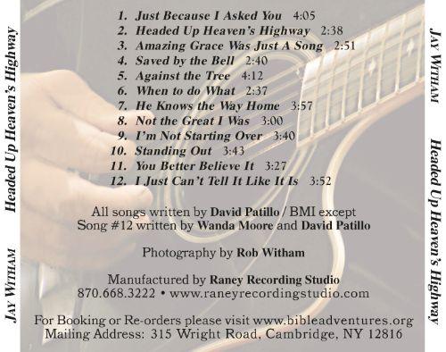 Photo: Headed Up Heaven's Highway CD