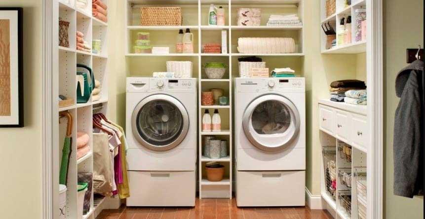 Laundry Room shelves Ideas