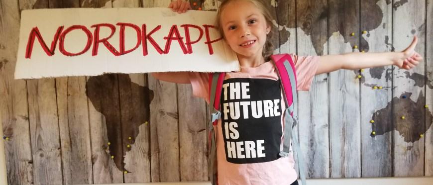 kiedy byłem mały zawsze chciałem dojść na koniec świata – autostopem na Nordkapp z siedmioletnią córką