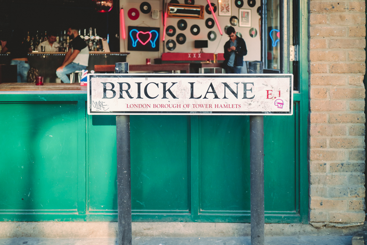 倫敦   個性潮流集散地 - 東倫敦紅磚巷 - JAZKO