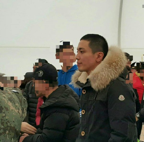 Photos Of CNBLUE's Jung Yong Hwa In The Military Revealed ...
