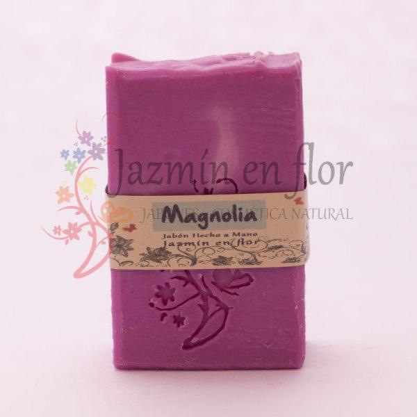 Jabón natural de Magnolia