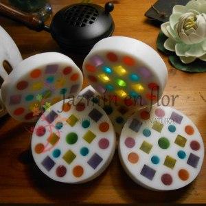 Jabón natural de glicerina mandala