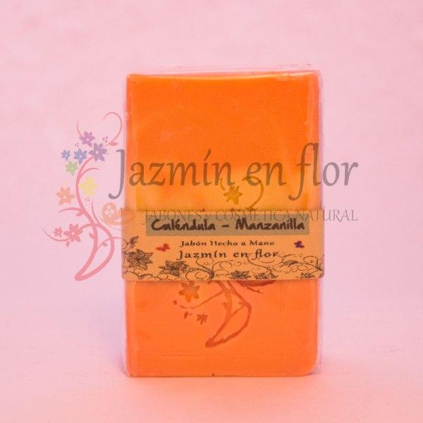 Jabon natural CALENDULA MANZANILLA
