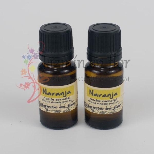 Aceite Esencial de Naranja. Aromaterapia