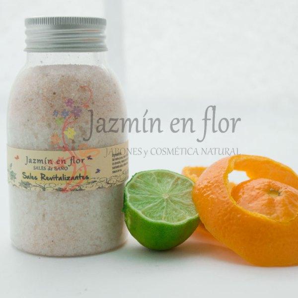 Sales de baño Revitalizantes Jazmín en flor
