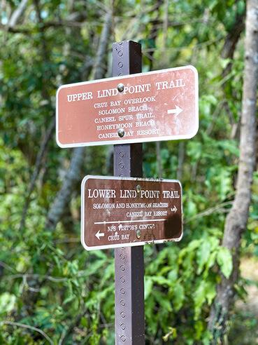 Trail Hike Signs