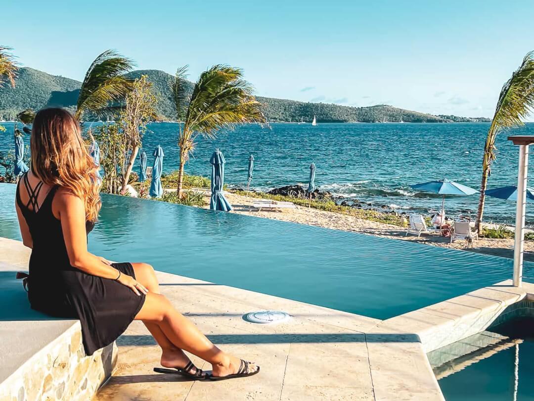 ST Thomas Lovango Resort pool