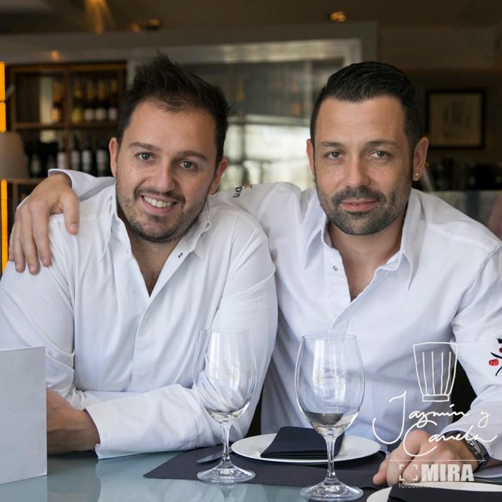 Arzabal Ivan Morales y Álvaro Castellanos.