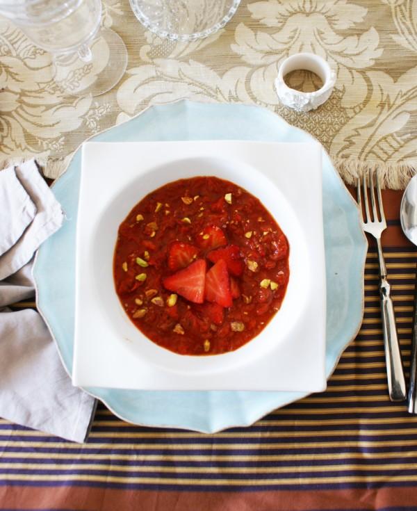 Sopa de tomate, pimiento y fresas, historia y leyendas de la fresa concurso fresas de europa